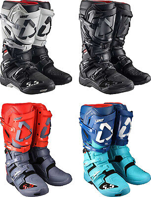 Leatt GPX 5.5 Flexlock Boots - Motocross Dirtbike