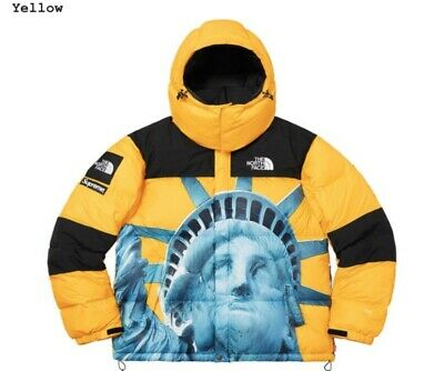 SUPREME X THE North Face Jacket Flag Map Wind Breaker Herbst