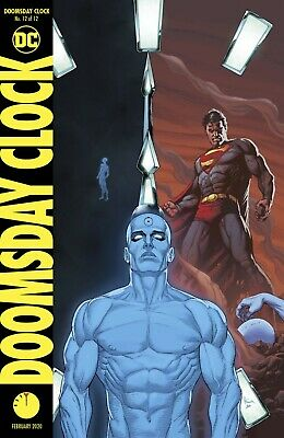 Doomsday Clock #12 Variant - Bagged & Boarded