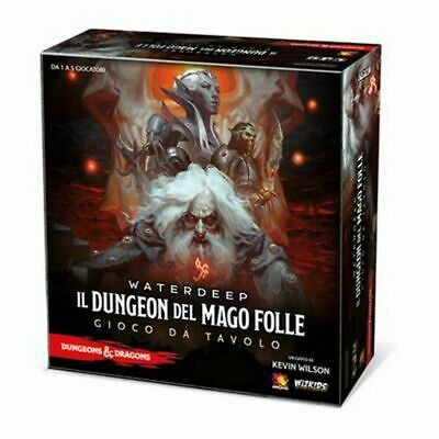 Dungeons & Dragons - IL Dungeon del Mago Folle - Gioco da Tavolo D&D Asmodee