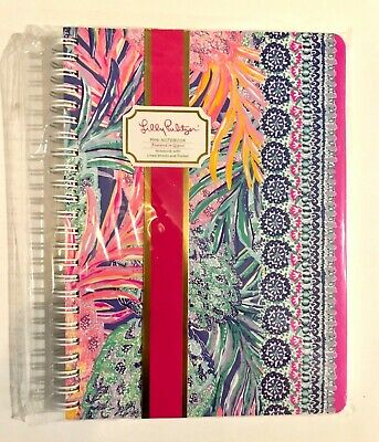 NWT Lilly Pulitzer Mini Notebook Journal Spiral Bound Gypset Paradise