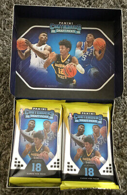 1 Sealed Hobby Pack – 2019-2020 Panini Contenders Basketball – Zion Rookie?