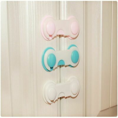 Plastic Safety Lock For Children Baby Refrigerators Door Protection Lock Safety
