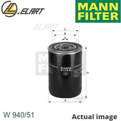 Filter Operating Hydraulics For Mann-Filter 931 57071 Aau6772 1695662 582 600 2