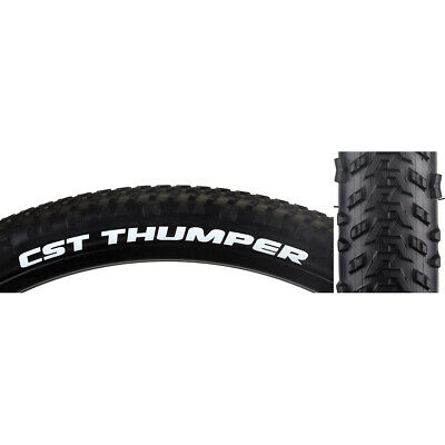 Sc Cst Premium Blackjack Tires 26X2.1-559 65-670 Wire 27 Bk//Blk