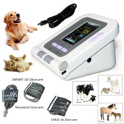 Veterinary Animal Blood Pressure Monitor 08A-VET+3 (Neonate+Child+Infant) Cuffs