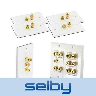 5.1 Speaker Wall Plate Package (Main Plate and Surround Plates) WPPK5.1