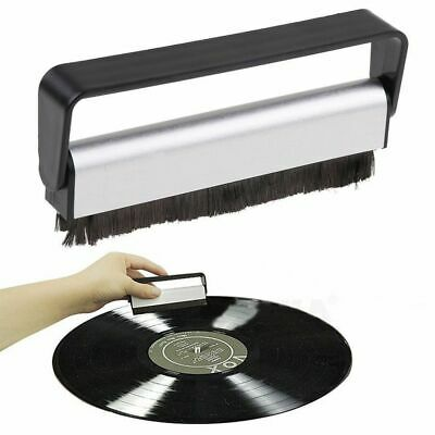 Anti-static Vinyl Record LP Carbon Fibre (Fiber) Record Cleaner Cleaning Brushes