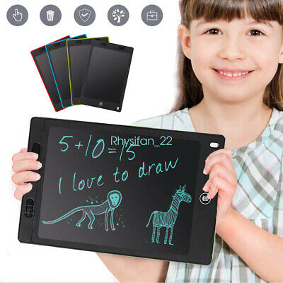 """12"""" Electronic Digital LCD Writing Pad Tablet Drawing Colour Board for children"""