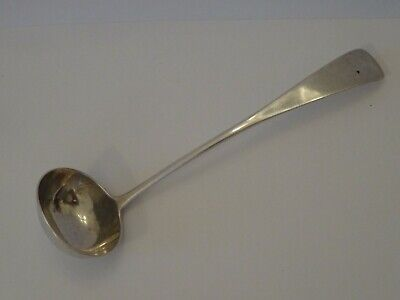 Rare Antique Scottish Provincial Silver Toddy Ladle, Thomas Stewart, Elgin