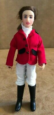 Breyer Horse Chelsea Show Jumper doll action rider figure clothing red