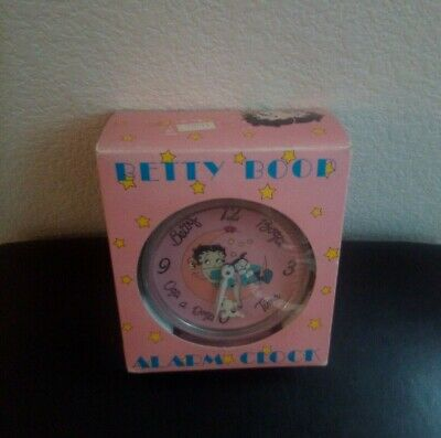 Betty Boop And Animated Bimbo - Alarm Clock - Boxed -  1989