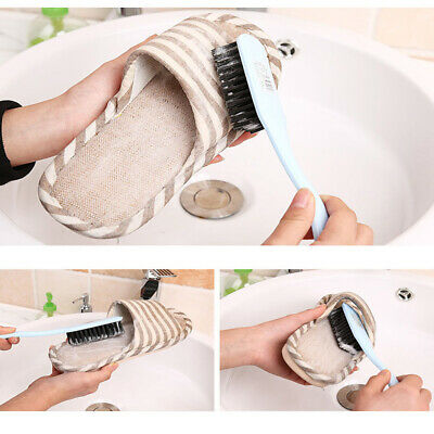 Soft Multipurpose Shoes Brush Cleaning Tool Boot Cleaner Dust Scrubber