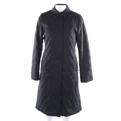 BURBERRY LONDON Übergangsmantel Gr. S Schwarz Damen Mantel Coat Manteau Mantel