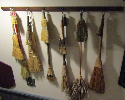"""Primitive Drying Rack (Shaker Style) -7 Pegs-40"""" Long - Nice For Drieds,Brooms"""