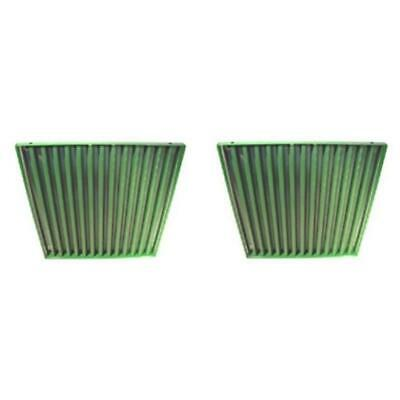 AR26849 Pair (2) Side Screens JD Green For John Deere Tractor 3010 3020