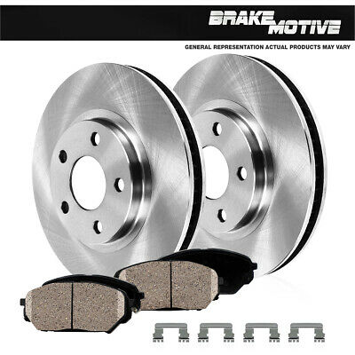 2005 2006 2007 Jaguar Vanden Plas Front /& Rear Brake Rotors and Pads w//326mm Dia