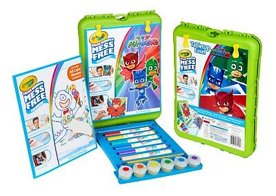 Crayola Colour Color Wonder Tabletop Easel Kit Mess Free Markers & Paint PJ Mask
