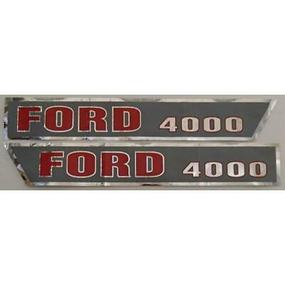 F503HA Hood Decal Kit Set for Ford Tractor 4000