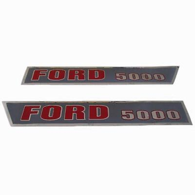 F504HA Hood Decal Kit Set fits Ford Tractor 5000