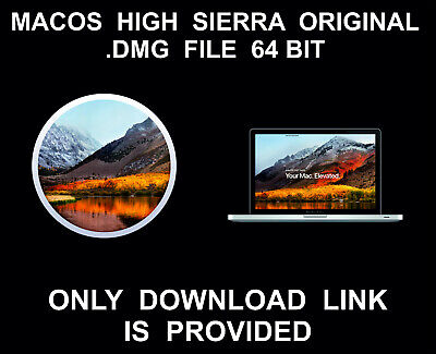 High Sierra 10.13.1 .DMG File Download Link, Full, From Mac App Store