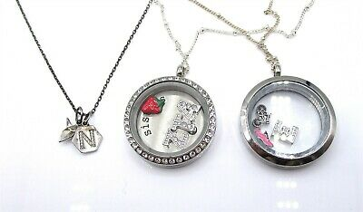 Living Floating Memory Heart Locket BLESS FAMILY Origami Owl Style ... | 234x400