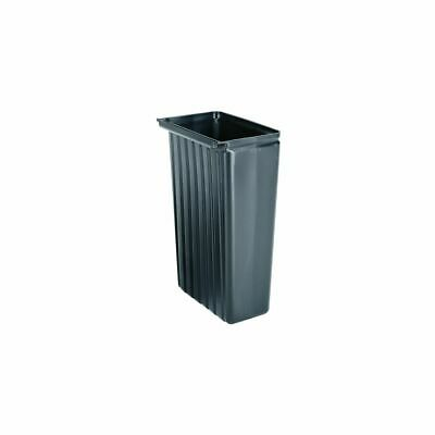 Cambro BC11TC110 Black 11 Gal. Trash Container for BC Service Carts