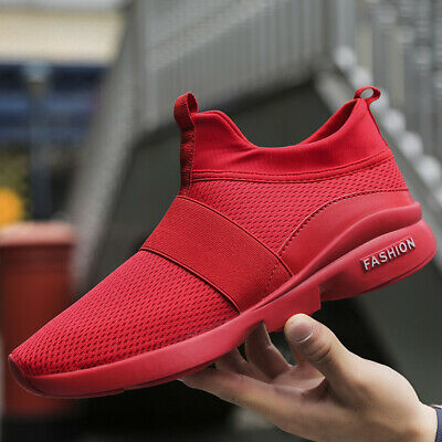 Women's Running Shoes Casual Breathable Sports Slip on Tennis Sneakers Walking