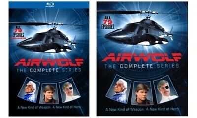 """NEW """"Airwolf""""-The Complete Series: Blu-Ray"""