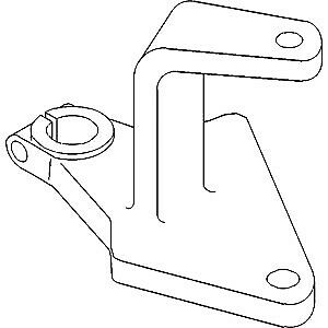 166446A Center Steering Arm for Mpl Moline Tractor Models YT62