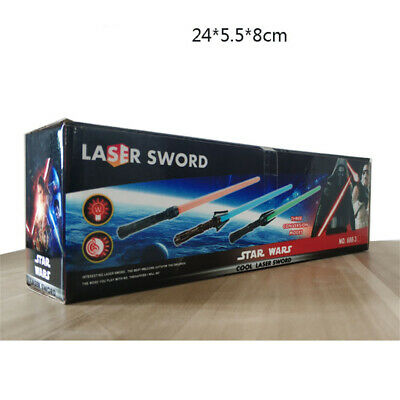 Star Wars Stretch Force Cool Laser Sword LightSaber Toy Cosplay Prop In Box Gift