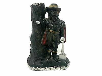 Captain Kidd Still Bank, 1900's, Cast Iron, Vintage