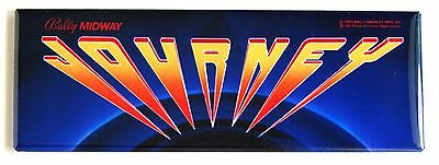 Journey Marquee FRIDGE MAGNET (1.5 x 4.5 inches) arcade video game header