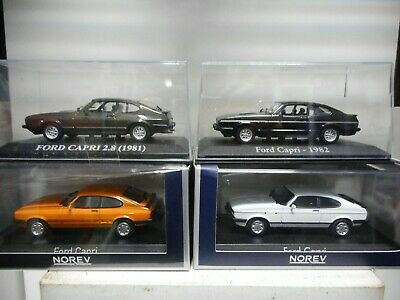 Ford Capri Mk3 1978-86 Grey Black Orange White Ixo Norev 1:43