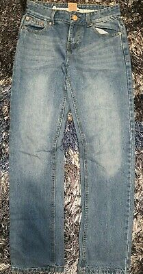 Boys Size 14 Blue Denim Jeans Pants By Camp And Campus Pockets 100% Cotton !!