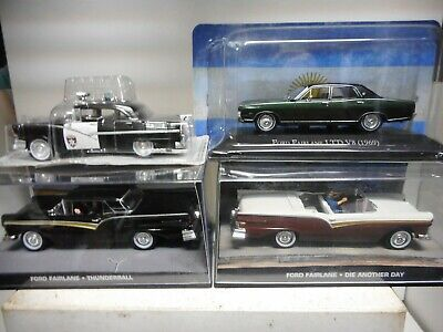 Ford Fairlane 007 James Bond Police Convertible Ltd V8 Argentina Ixo 1:43