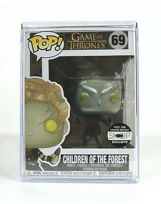 Funko POP! Metallic Children of the Forest NYCC 2018 LE Game of Thrones W/protec