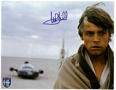 Mark Hamill Star Wars A New Hope Authentic Signed 11x14 Photo BAS #A15127