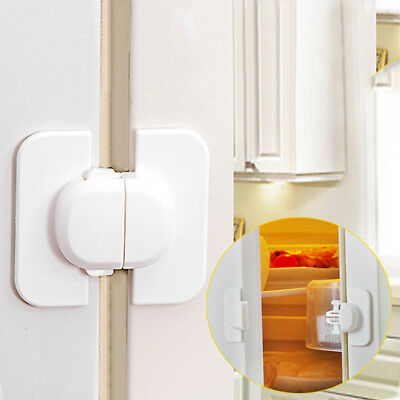 Cabinet Door Drawers Refrigerator Toilet Safety Plastic Lock For Child Kid tg