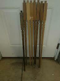Balusters Architectural & Garden Antique Victorian Turned