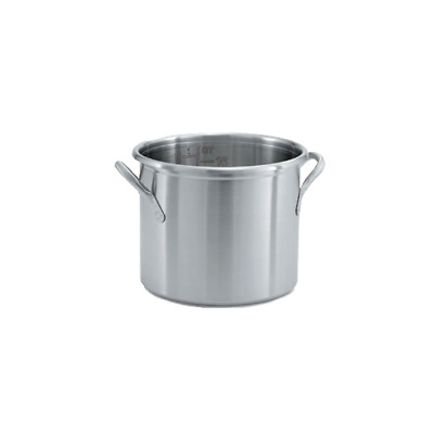 Vollrath - 77600 - 16 qt Tri-Ply Stainless Steel Stock Pot
