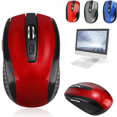 Wireless Cordless 2.4GHz Mouse Mice Optical Scroll PC Laptop Computer + USB