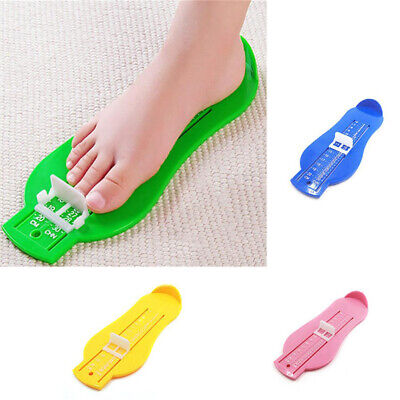 Kids Infant Toddler Baby Foot Measure Gauge Shoes Size Measuring Ruler 0-5Y