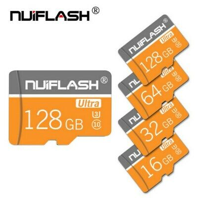 64/128GB Mini Micro-SD-Karte Klasse 10 High-Speed Speicher für Kamera/Handy