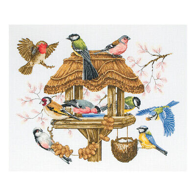 ANCHOR | Counted Cross Stitch Kit: Premier Bird Table - Sampler | APC942