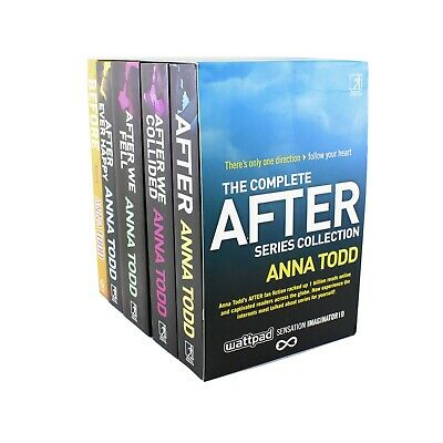 The After Series 5 Books Adult Collection Paperback Set By Anna Todd