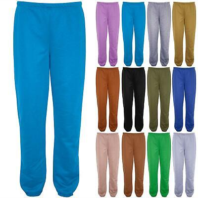 Womens Ladies Casual Fleece Pants Gym Trouser Elasticated Waist Stretchy Joggers