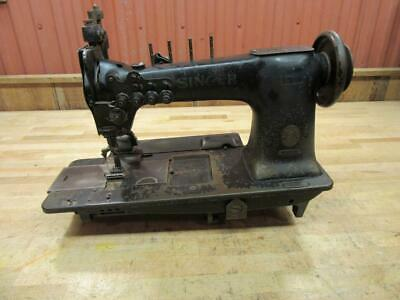 Vintage Industrial Singer Sewing Machine Model 131 131WSV17 4 Needle Lockstitch