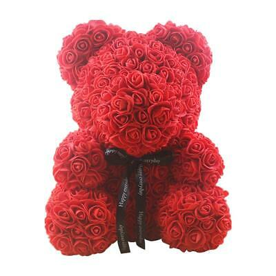Mini Bear Doll 25CM Simulated PE Rose Flower Valentine's Day Decoration Gifts