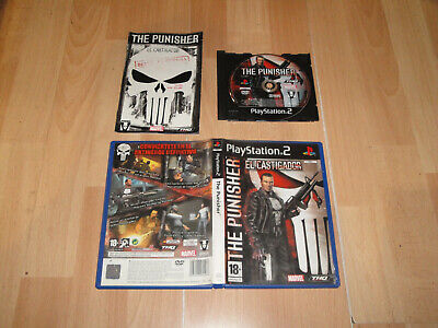 The Punisher El Castigador De Volition Inc. - Thq Para Sony Ps2 En Buen Estado